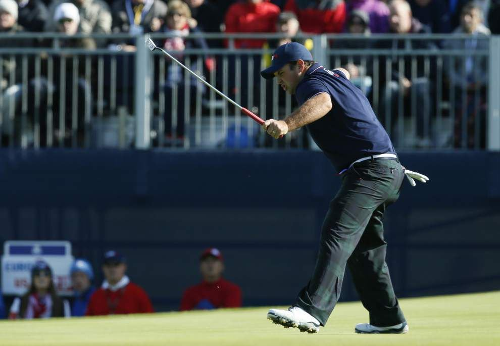 Europe pushes Ryder Cup lead to a daunting 10-6 with one day left _lowres