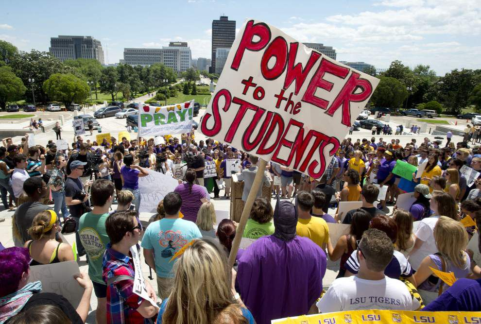 Who's to blame? Legislators point fingers over financial plight of Louisiana colleges, universities _lowres