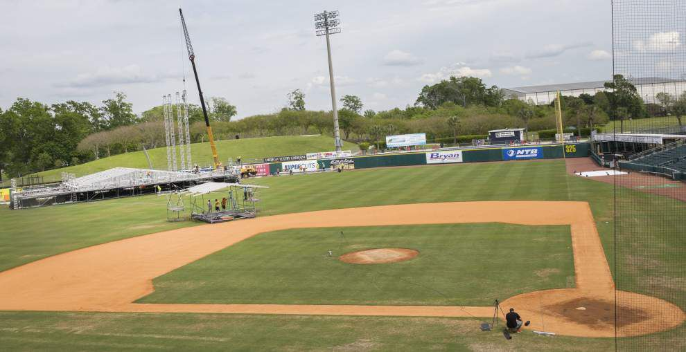 Zephyr Field, finalist for SEC baseball tournament, set to get site visit from SEC officials _lowres