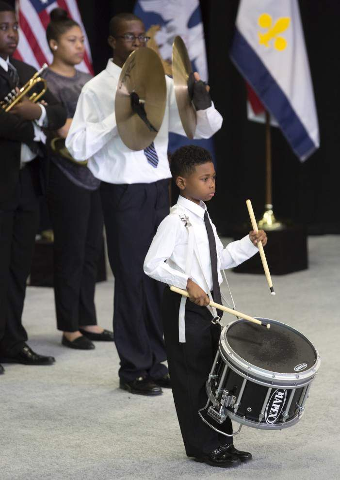 'You inspired all of America,' Obama tells crowd on New Orleans visit _lowres