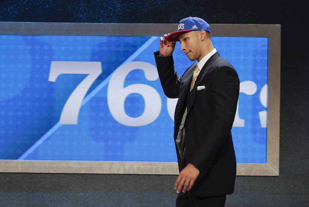 76ers make Ben Simmons first No. 1 pick from LSU since 1992 _lowres
