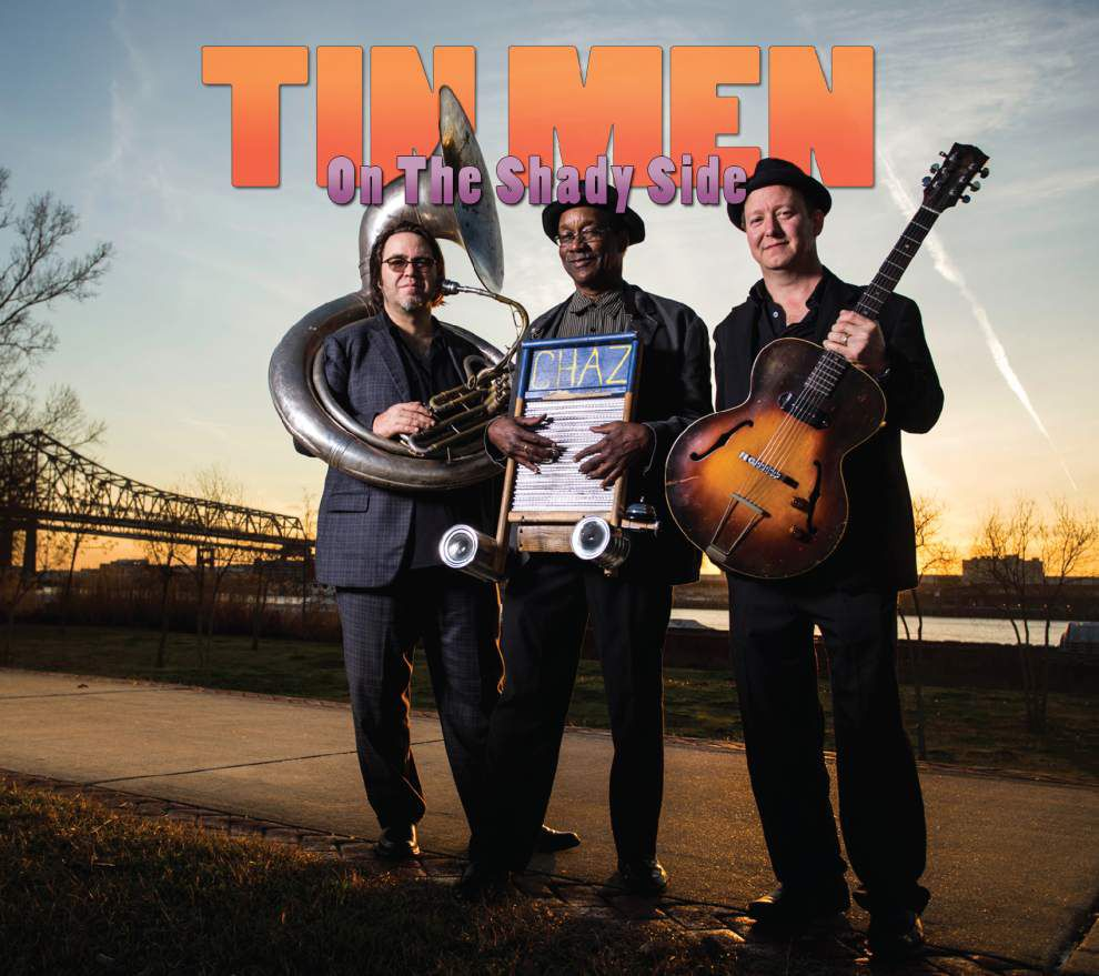 The Tin Men: a classic trio, with unorthodox instruments _lowres