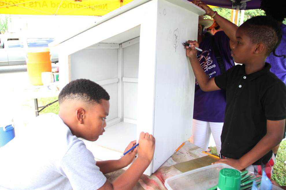 LSU Museum of Art program takes art outside, offers creative learning experience for kids in Baton Rouge neighborhoods _lowres