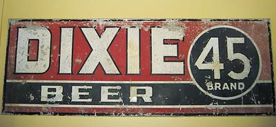 How did Dixie 45 beer get its name?   Blake Pontchartrain