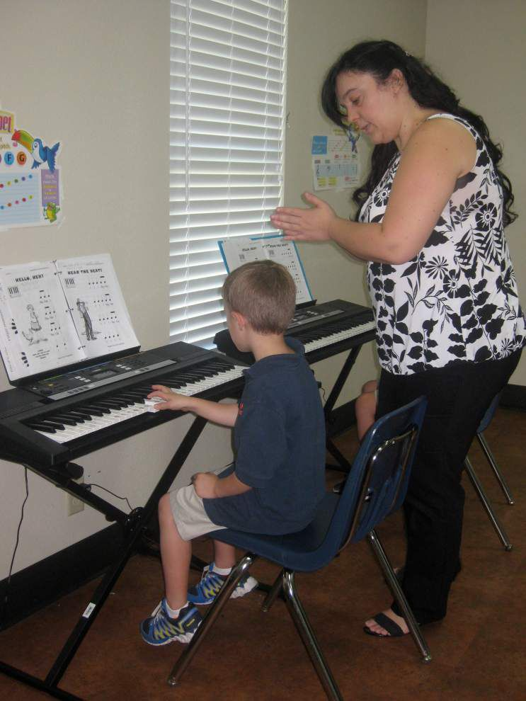Ascension Christian first-graders get classical training _lowres
