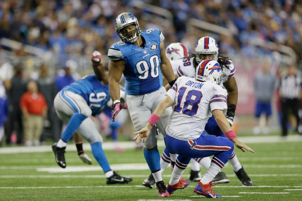 New Orleans Saints take note of Detroit Lions' fearsome front four _lowres