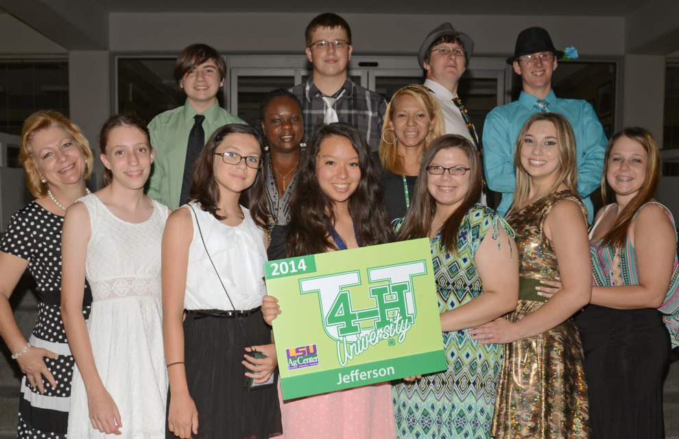 Jefferson teens compete and learn at 4-H University in Baton Rouge _lowres