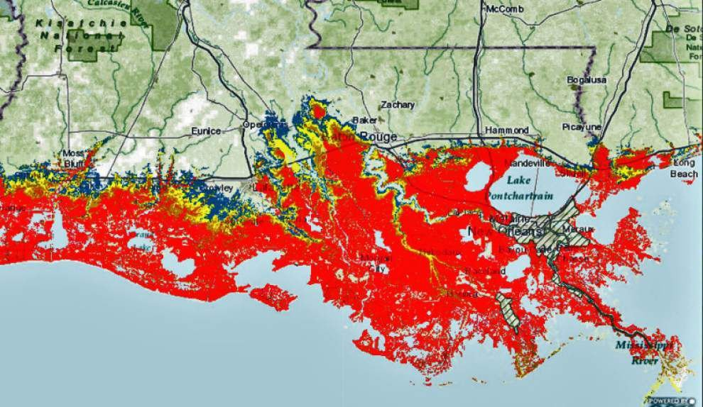 The Lens: Latest storm-surge maps show shocking scenarios for south Louisiana _lowres
