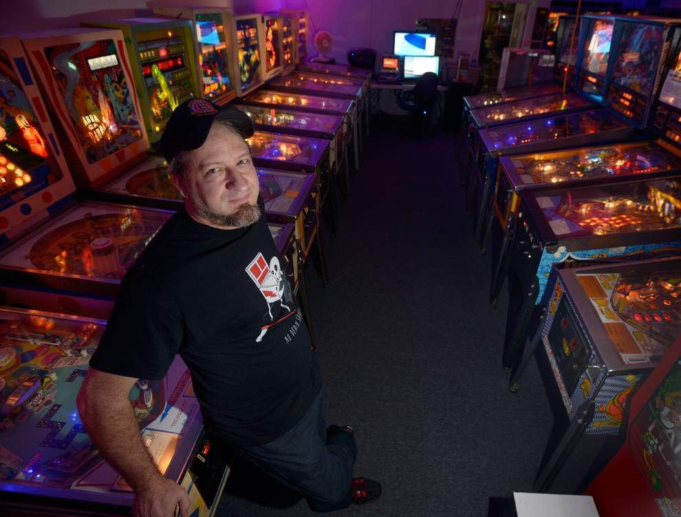 N.O.'s PinChurch home to region's largest pinball machine collection _lowres