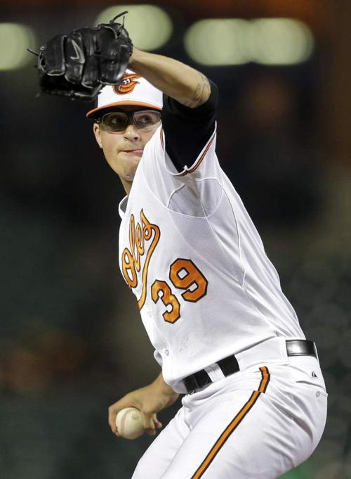 Kevin Gausman stepping up on mound for Orioles _lowres