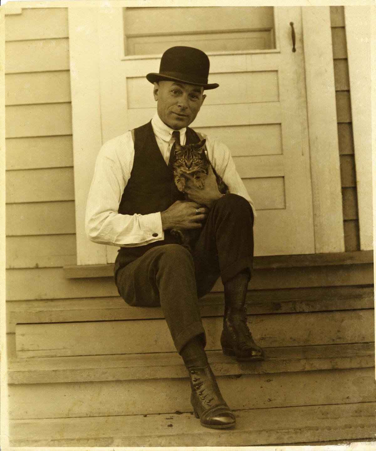 11. herriman and cat .jpg