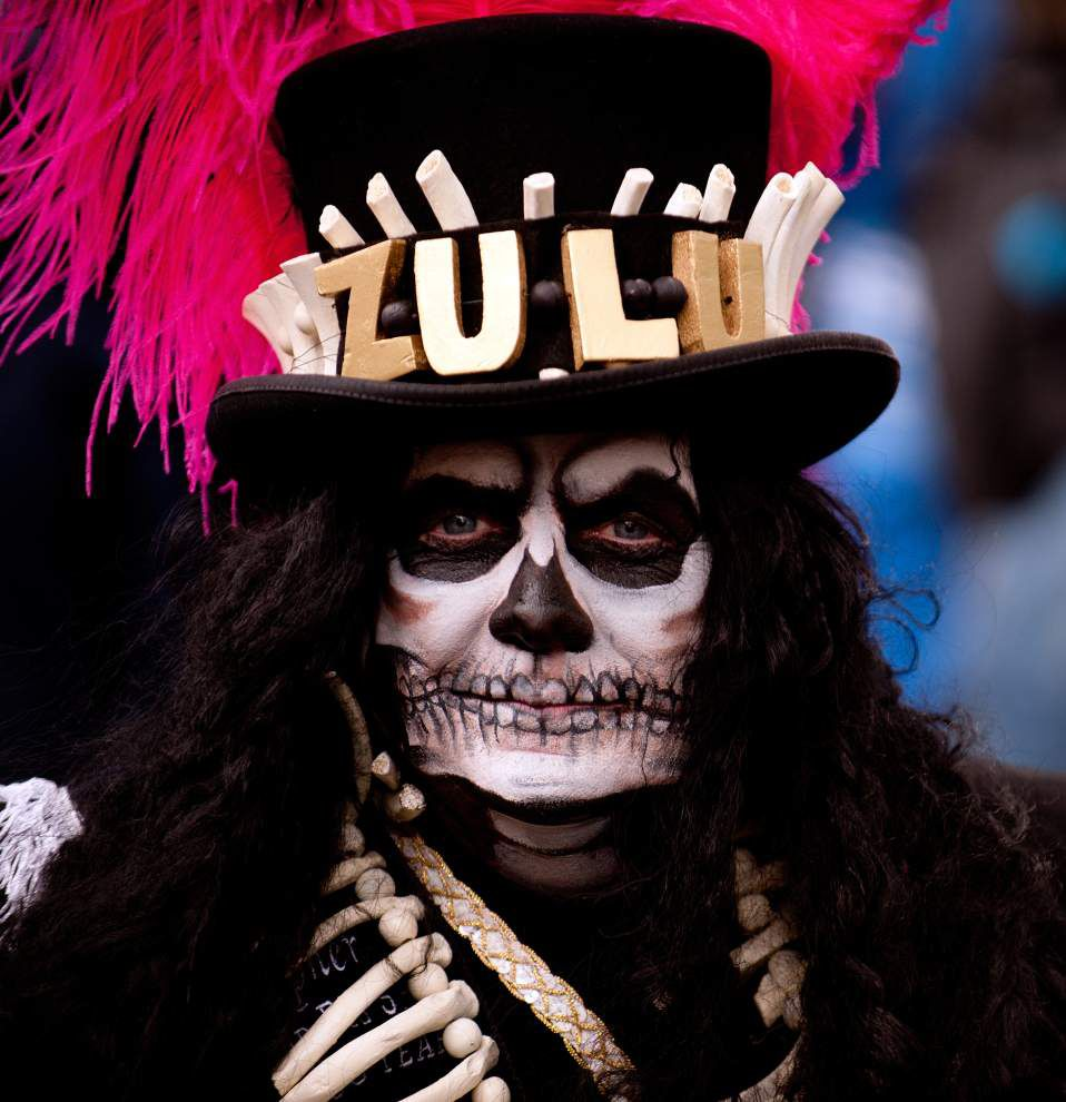 Photos: Krewe of Zulu features quirky floats and highly sought ...
