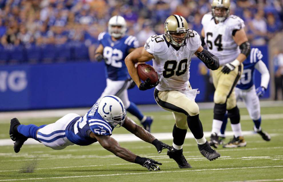 Video: Saints tight end Jimmy Graham looking forward to playing rival Atlanta Falcons _lowres
