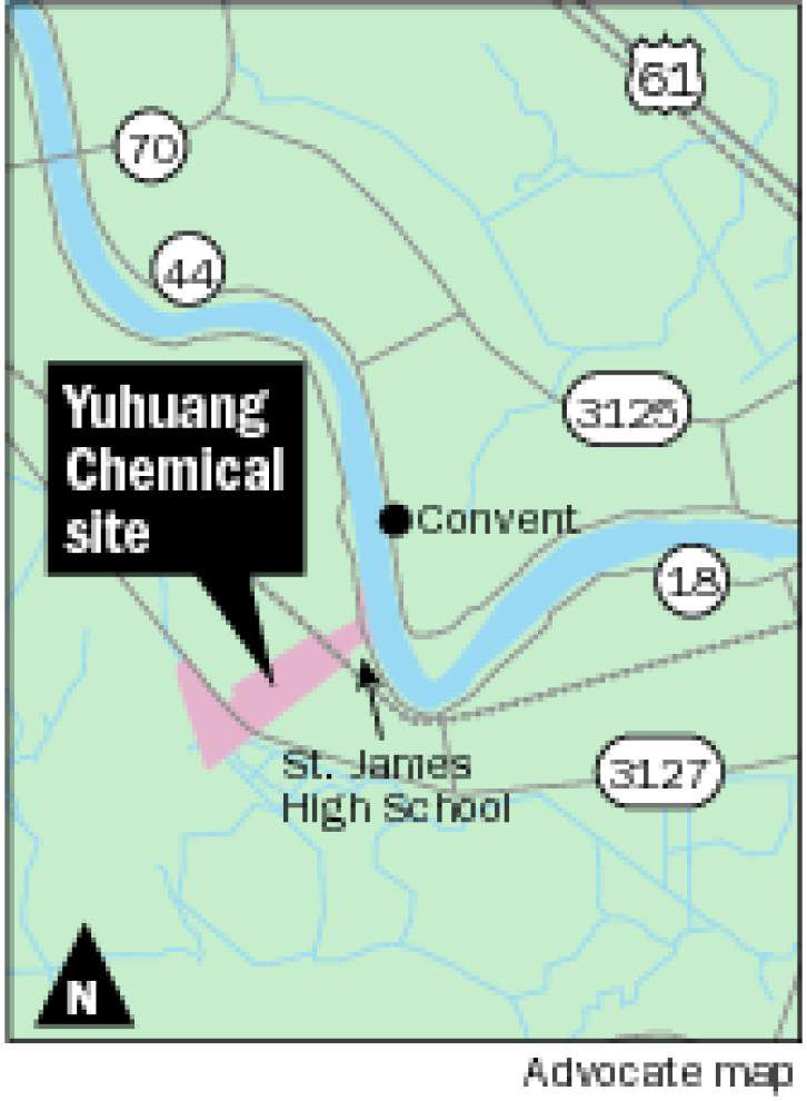 Yuhuang buys St. James site for $1.85 billion methanol complex _lowres