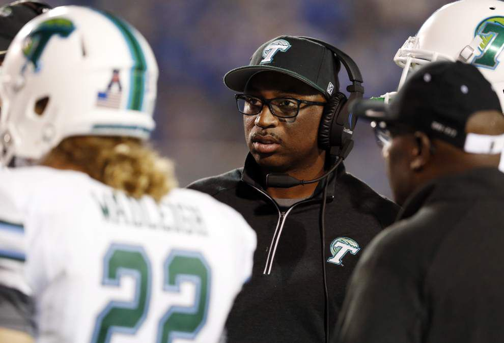 Tulane football coach Curtis Johnson fired; new hire to be made after new athletic director on board _lowres