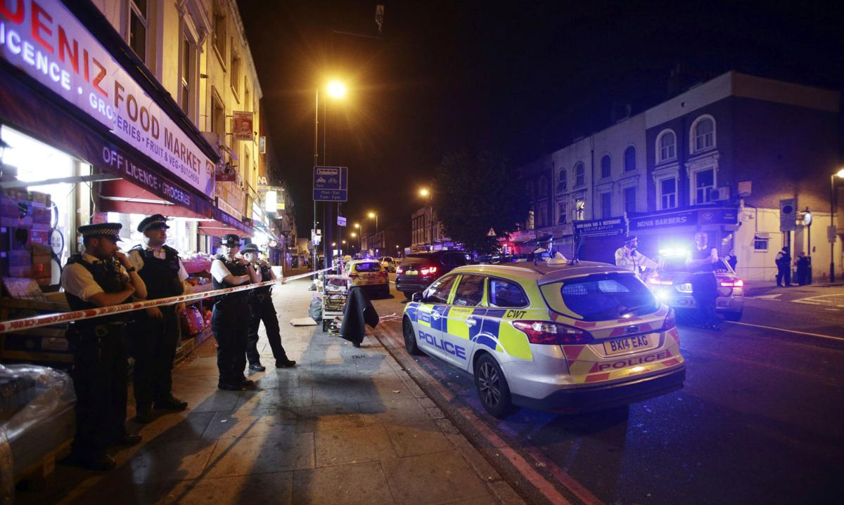 The Latest: Council says van struck people leaving mosque