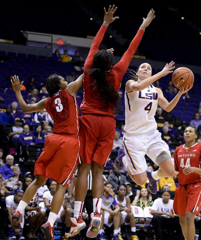 Anne Pedersen right at home at LSU _lowres