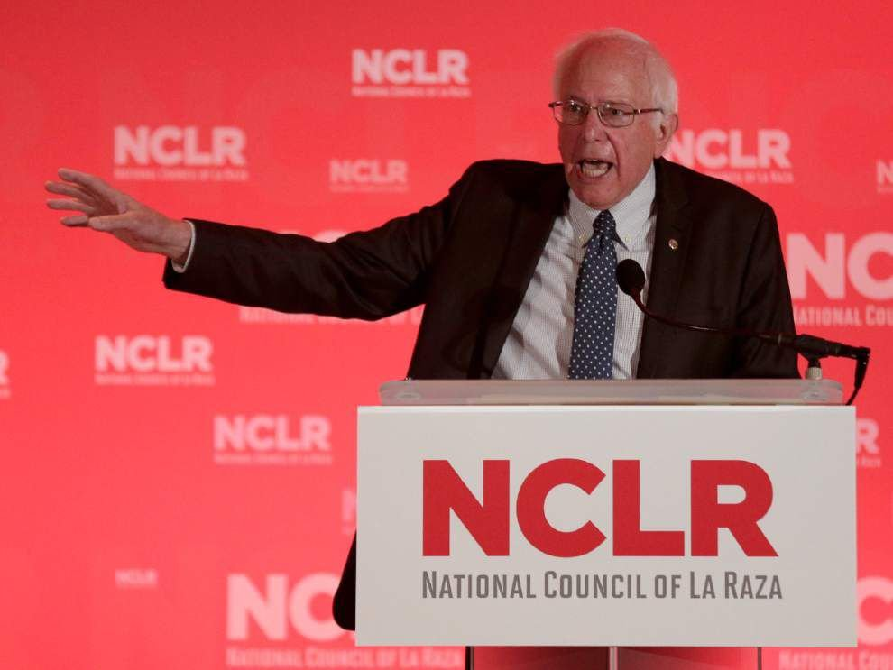 Bernie Sanders to appear at Louisiana Democrats event in New Orleans _lowres