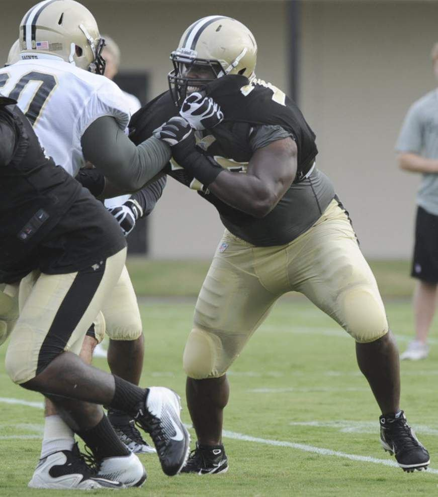 Saints release defensive tackle Brodrick Bunkley, place Marques Colston, Jairus Byrd on 'Physically Unable to Perform' list _lowres