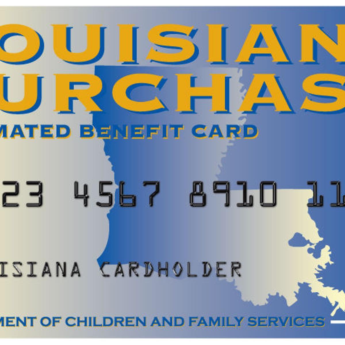 If you receive food stamps in Louisiana, heads up: April