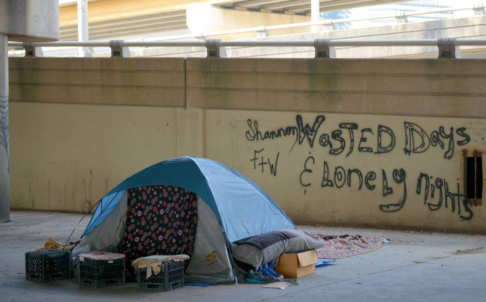 City: No effort made to remove latest homeless camp _lowres