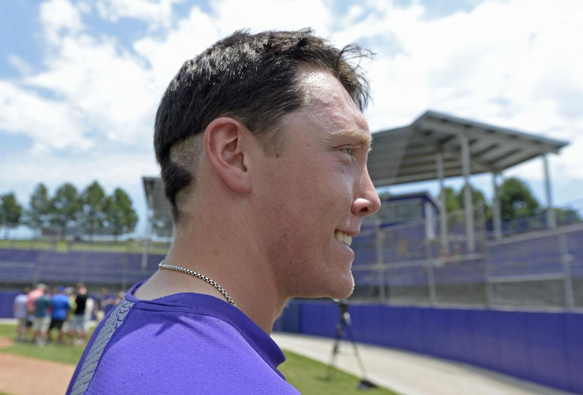 photos: crazy hair styles live on as lsu baseball prepares for