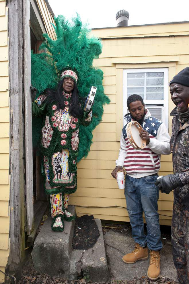 Photos: Mardi Gras Indians combine sewing, singing, dancing and acting into a unique carnival tradition. _lowres