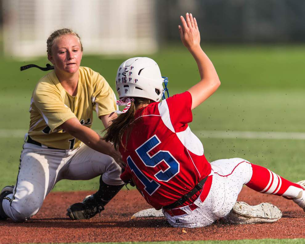 LHSAA state softball tournament: Kaplan upsets Parkview in Class 3A semifinals _lowres