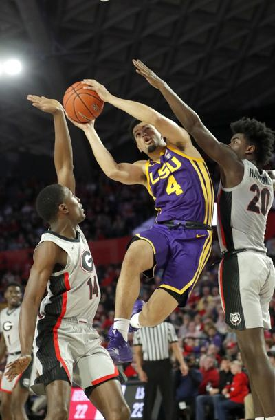 LSU Georgia Basketball