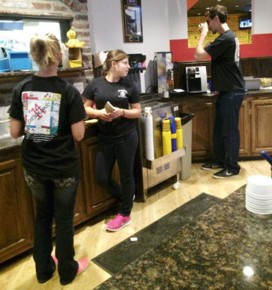 Rotolo's, St. Michael raise money for fund _lowres