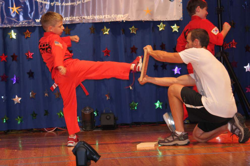 Prairieville students participate in talent show _lowres