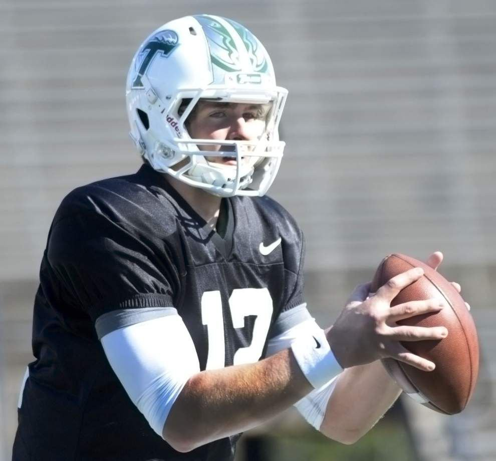 Tulane camp report: quarterback Tanner Lee, other youngsters say they're ready to play _lowres