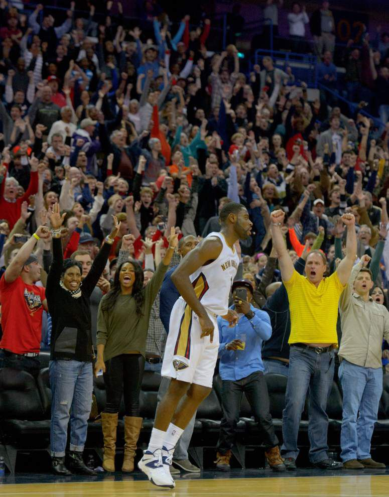 Pelicans pushing for fans to pack Smoothie King Center _lowres