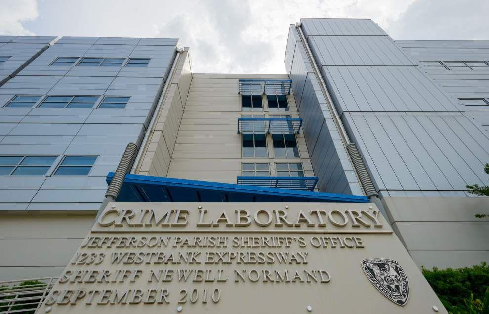 Jefferson Parish sues contractors over leaky crime lab _lowres