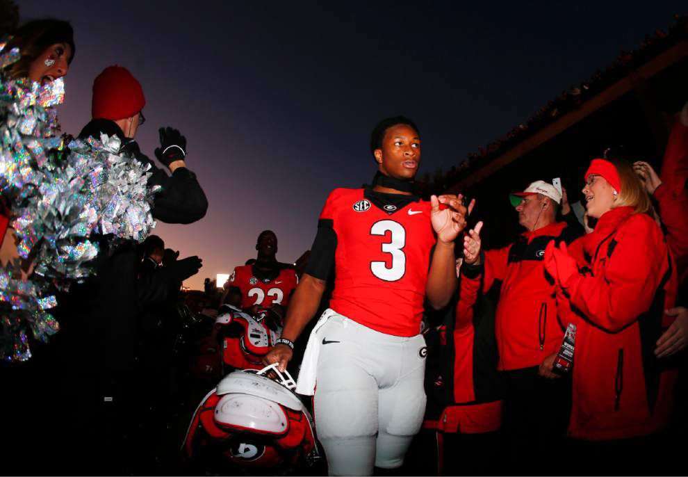 Georgia loses Todd Gurley to season-ending knee injury _lowres