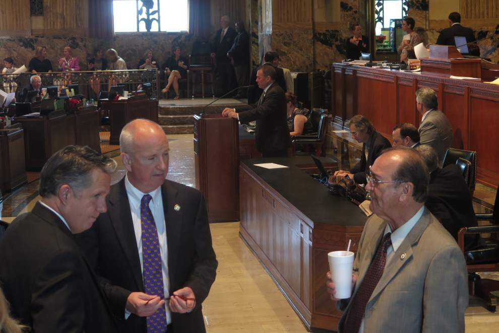 Louisiana legislators find that a budget deal remains elusive three days before the session ends _lowres