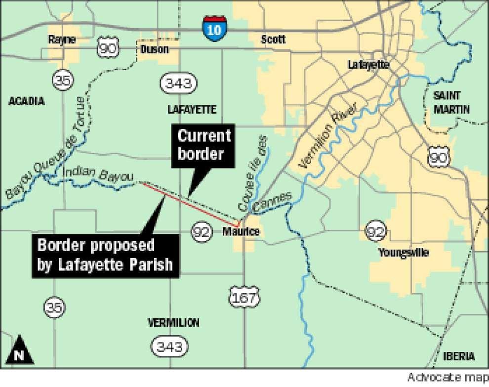 Lafayette loses latest skirmish in border dispute with Vermilion Parish _lowres