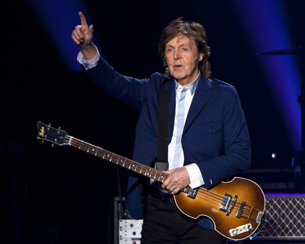 Revisiting a trip to New Orleans during Mardi Gras: Paul McCartney recalls 'My Carnival' on 'Venus and Mars' re-release _lowres