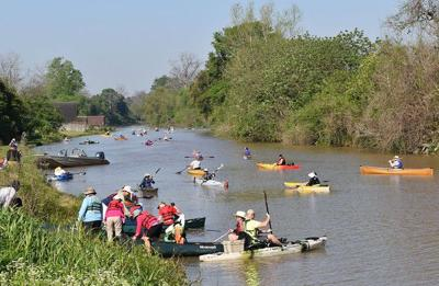 Bayou Lafourche paddle trip highlights restoration, Cajun culture