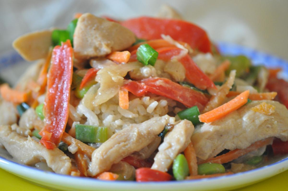 Chicken in Spicy PEanut Sauce ..JPG