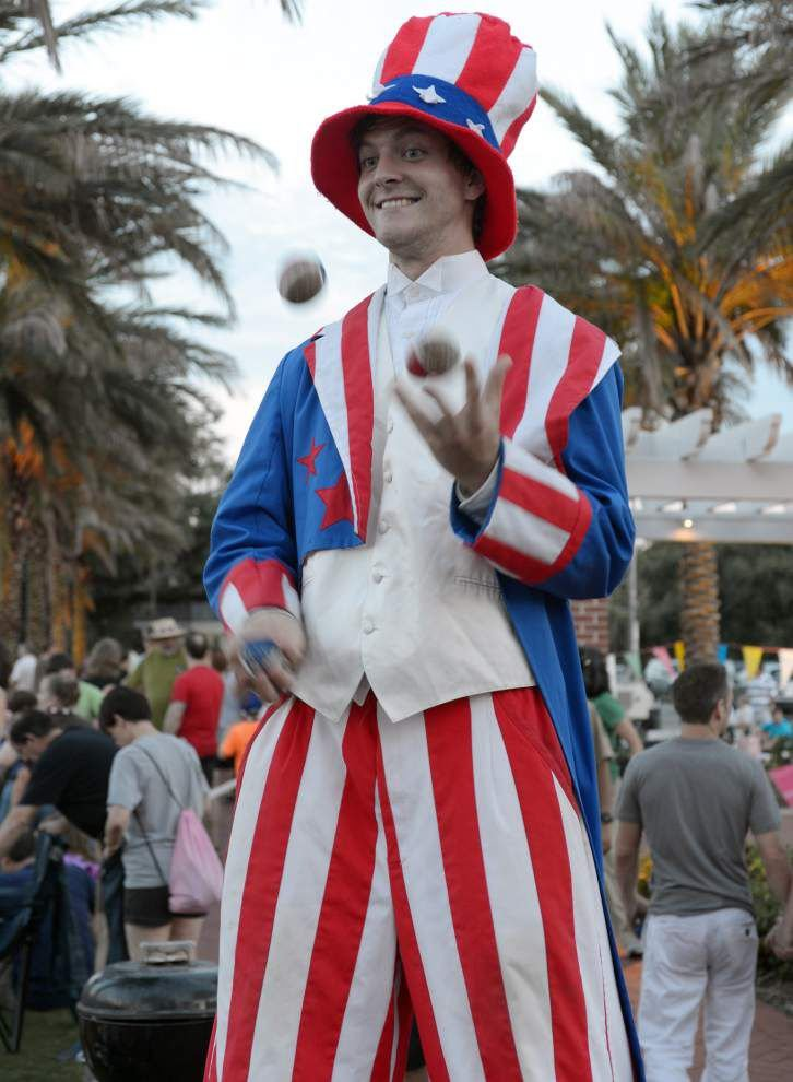 Three days of fireworks, music mark Fourth of July around New Orleans _lowres