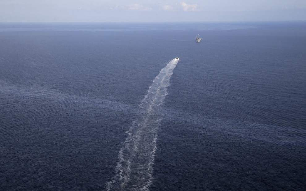 Taylor Energy executive blames decade-old oil leak in Gulf of Mexico on 'act of God' _lowres
