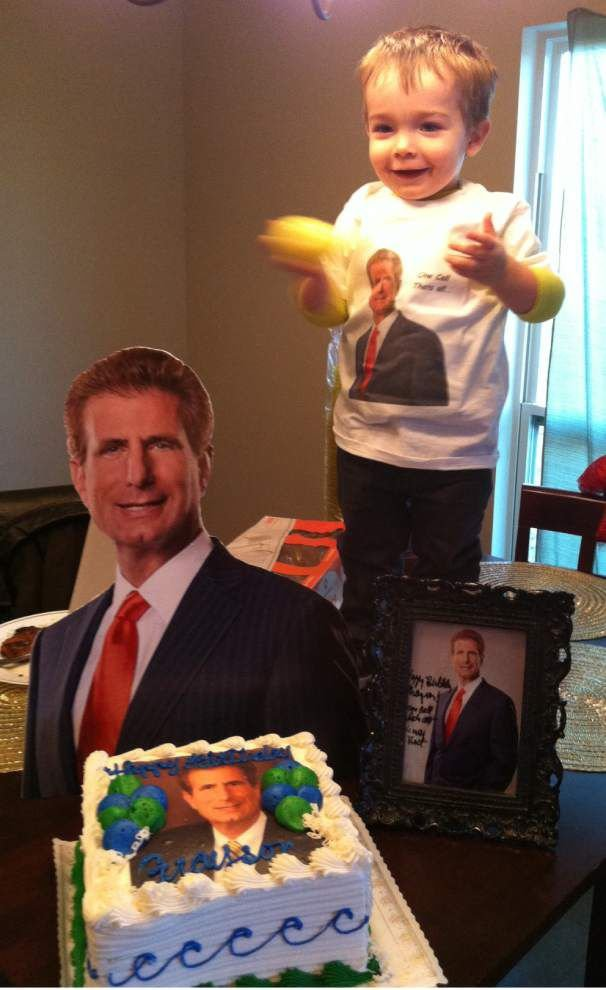 Diapers to legal briefs: Mom to let attorney-obsessed toddler meet Morris Bart as reward for potty training _lowres