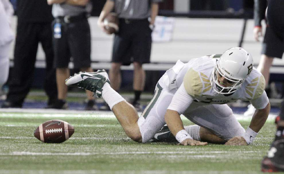 Baylor outguns Texas Tech 48-46 _lowres