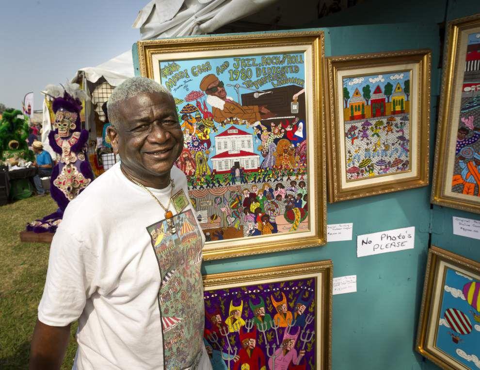 First Jazz Fest poster artist Bruce Brice dies _lowres