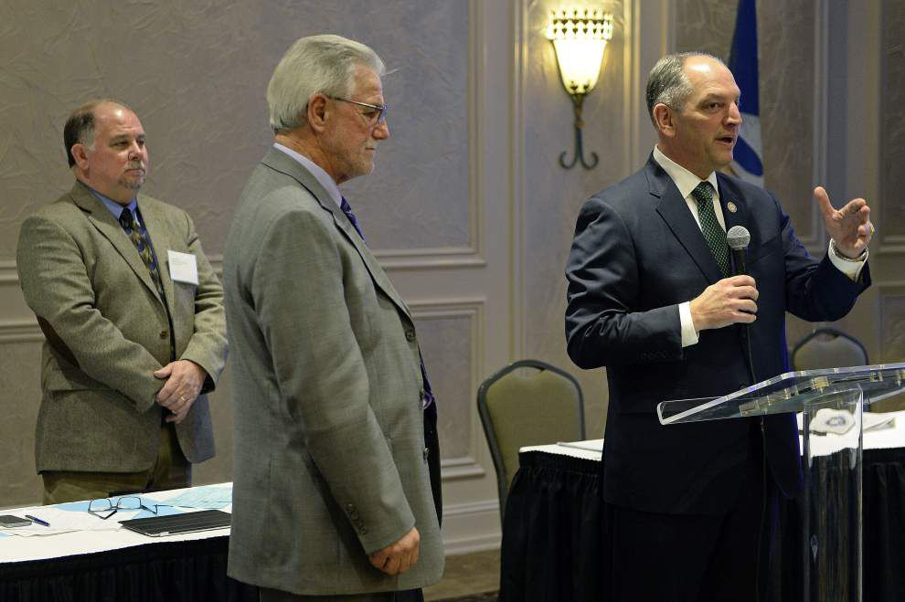 Gov. John Bel Edwards to builders union, 'I never once — not one time — tried to distance myself from labor' _lowres