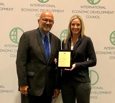 AEDC Receives Excellence in Economic Development Award .jpg