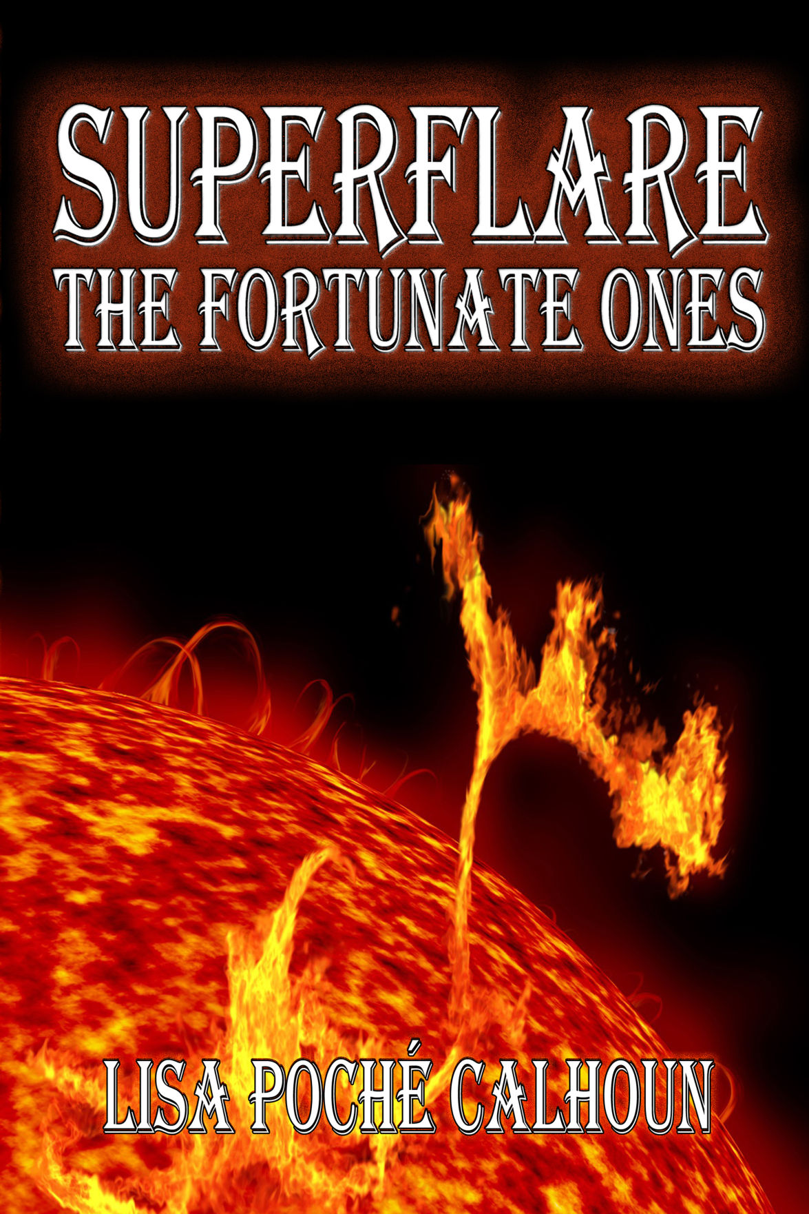 Superflare - The Fortunate Ones - Front Cover.jpg