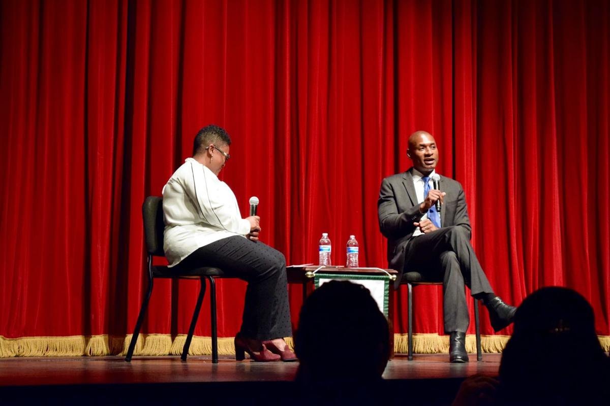 At Tulane appearance, columnist Charles Blow defends the press in 'fake news' era_lowres