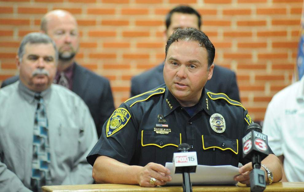 Lafayette Sheriff-elect Garber names Carencro police chief as chief deputy sheriff _lowres